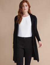 Ladies` Longline Open Cardigan